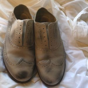 Authentic SOREL distressed leather wingtips EUC